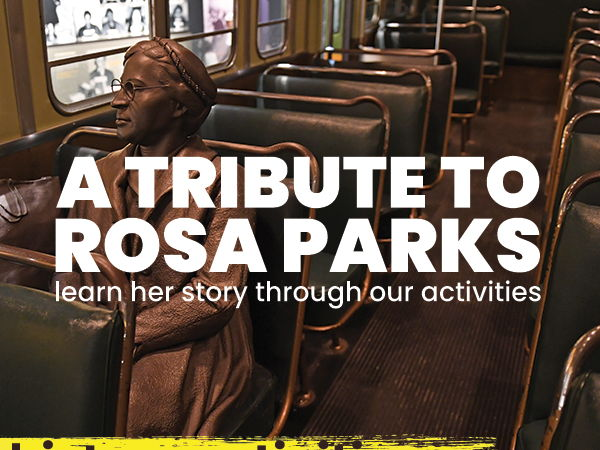 Word Search Activity - Rosa Parks