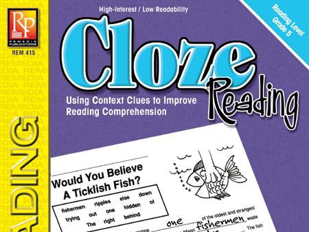 Cloze Reading (Grade 5)