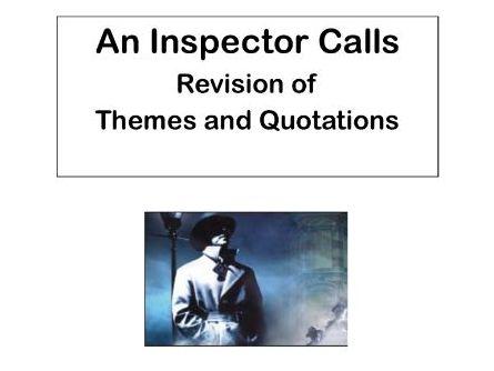 AQA An Inspector Calls:  Theme of Class