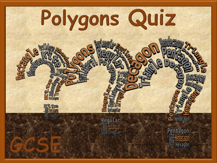Polygons Quiz - animated interactive PowerPoint quiz - 10 questions
