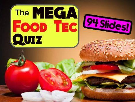 The MEGA Food Tec Summer Quiz