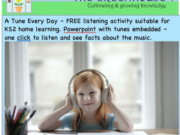 'A tune every day' KS2 music listening  ppt