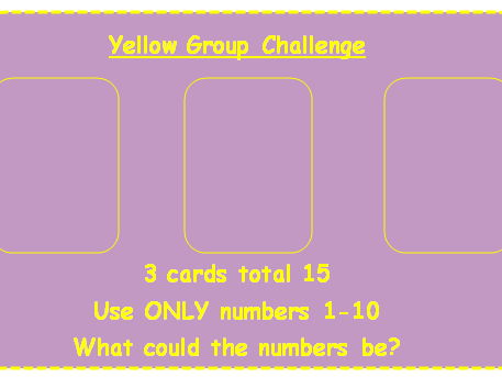 Maths Challenge Extension - Making 100 from 3 Numbers - Addition
