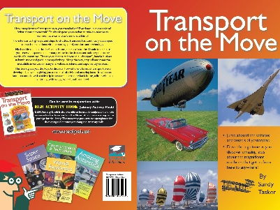 Library Activity Pack: Transport on the Move Resource Book