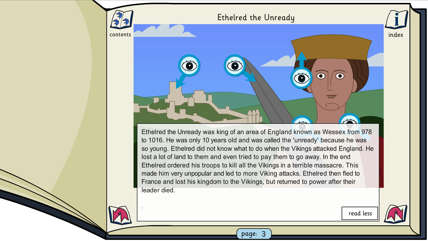 Kings, Queens and Rulers Interactive Information Book - KS2