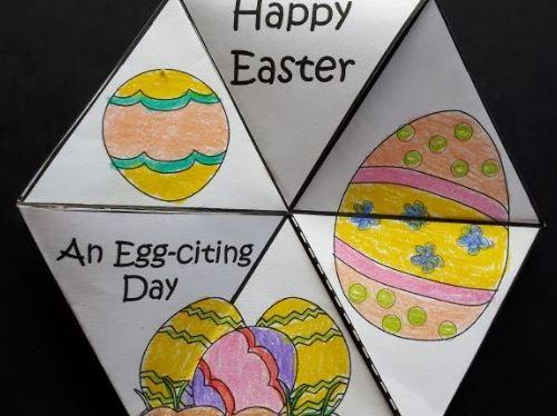 Easter Crafts - 3D Fidget Spinners