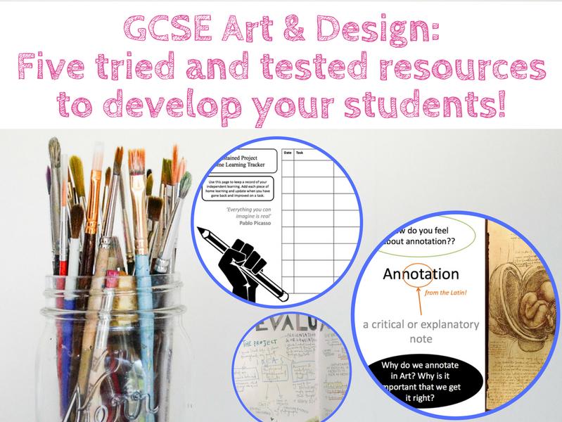 GCSE art & design