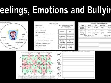 Feelings Emotions and Bullying