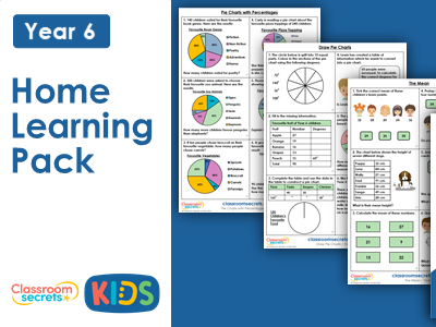 Year 6 Summer Week 2 Home Learning Maths Pack