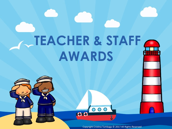 Teacher & Staff Awards