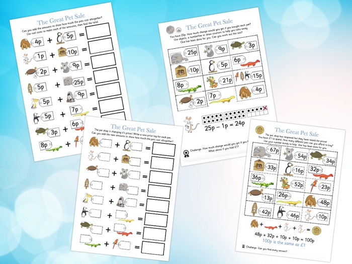 Story Activity Pack - The Great Pet Sale
