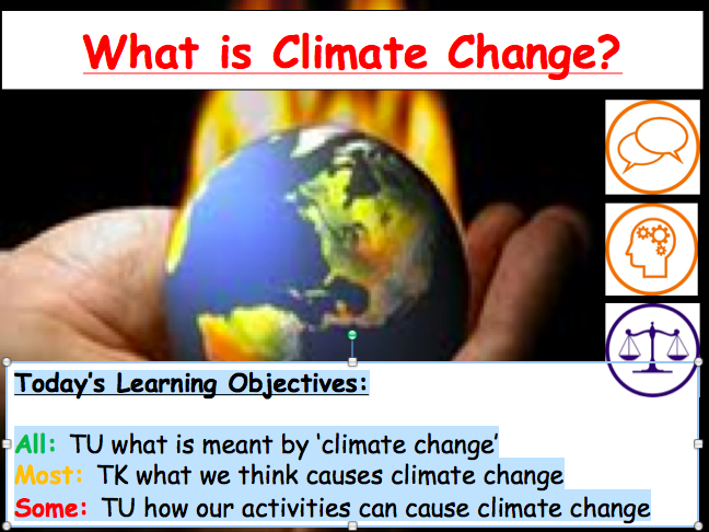 Lesson 1: What is Climate Change?
