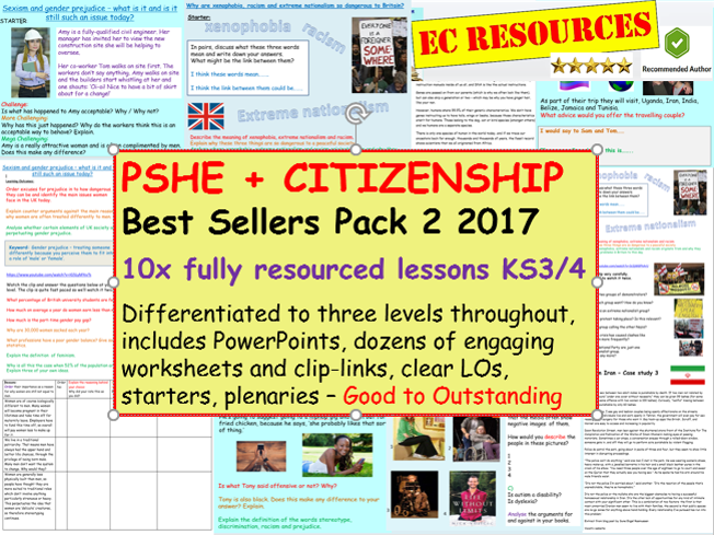 PSHE and Citizenship 2