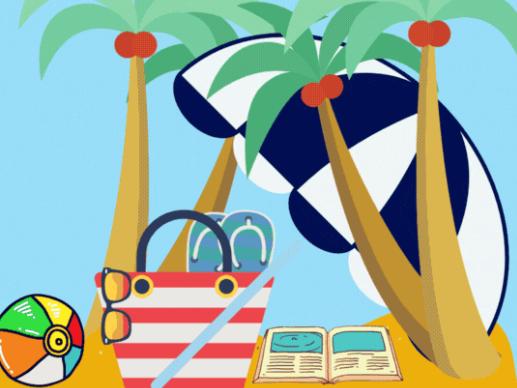 Google Classroom Summer GIF