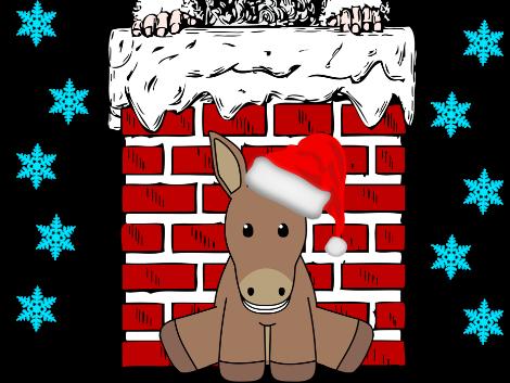 'Davey the Donkey' KS1 & KS2 Christmas Show Play Script with sound effects