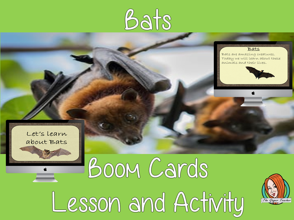 Bats - Boom Cards Digital Lesson