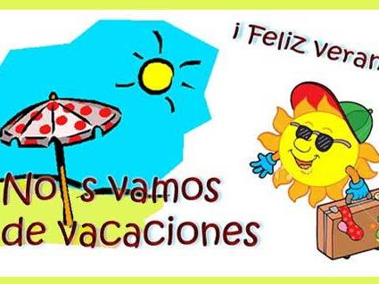 Las vacaciones - holidays