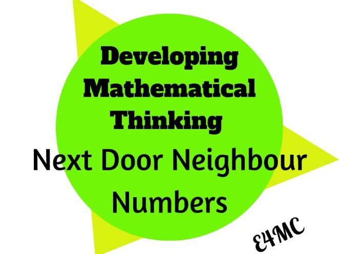 How to teach mathematical thinking skills in the context of an activity.