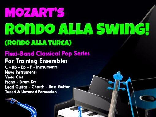 Rondo All Swing! (Flexi-Band Score & Parts)