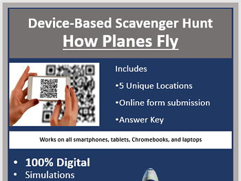 How Planes Fly – A Digital Scavenger Hunt Activity