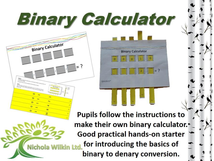Binary Calculator - Starter Activity