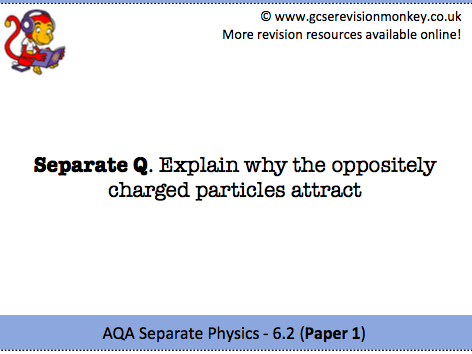 Revision Cards - AQA Separate Physics 6.2
