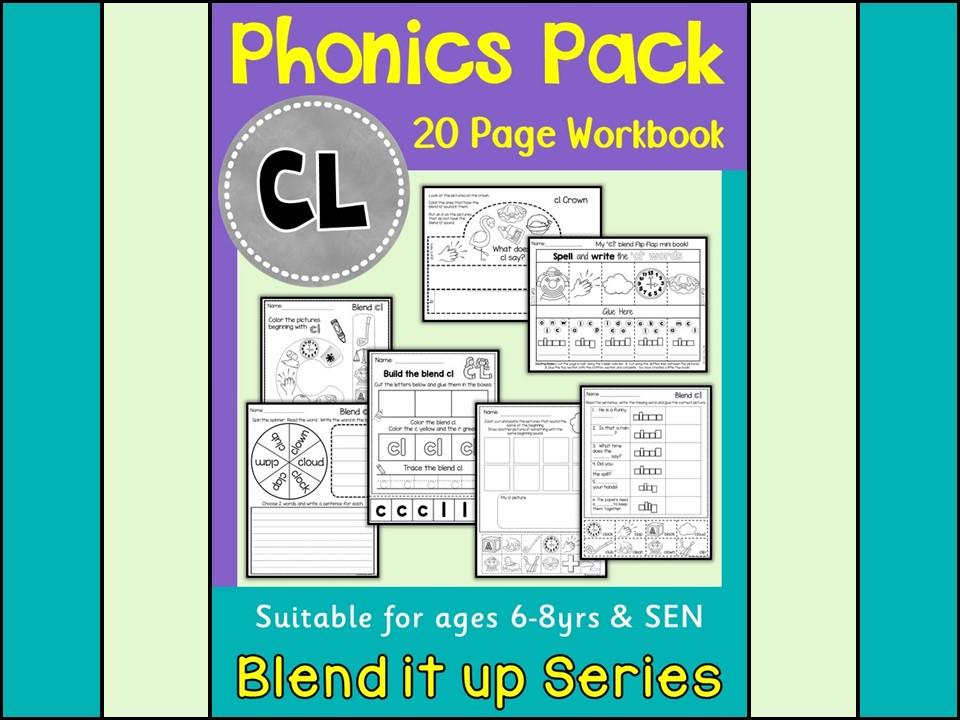 Phonics CL Blend