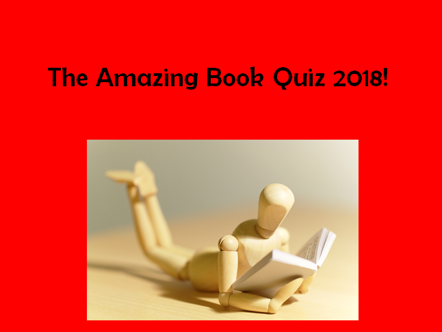 Amazing Book Quiz 2018!