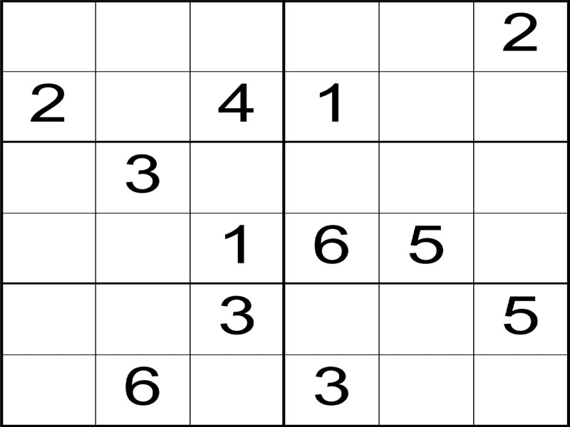 Sudoku Puzzles for Children in Years 1 to 6