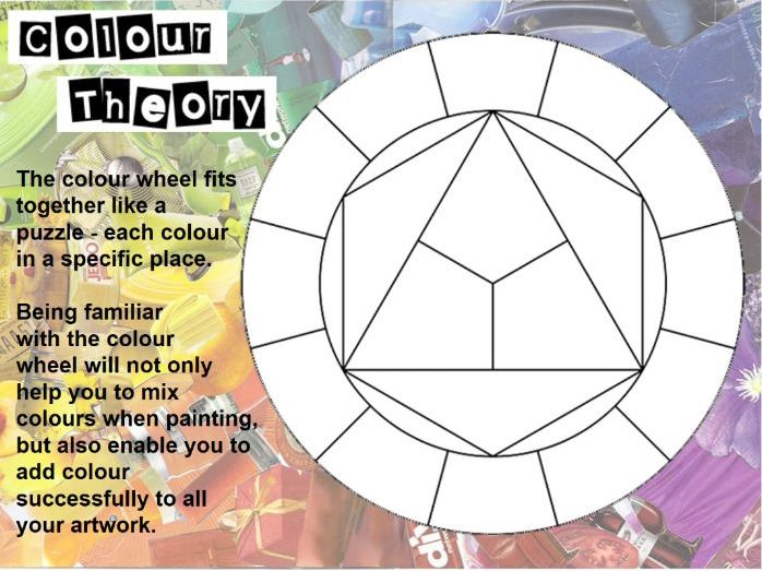 Introduction to Colour Theory with Painting Activities