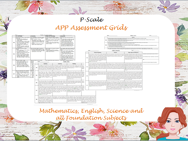 P-Scale - APP Assessment Grids