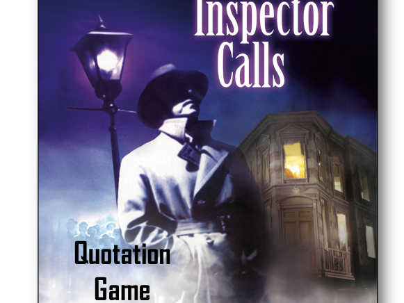 An Inspector Calls Quotation Game