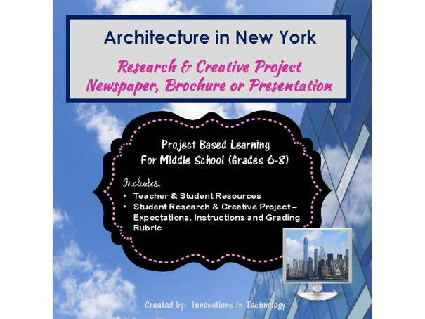Famous Architectural Landmarks in New York - Research & Creative Technology Project