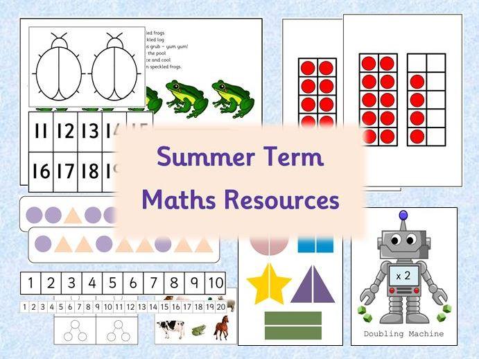 Maths Resource Pack - Summer Term EYFS