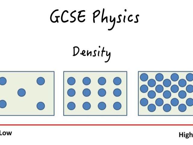 GCSE Density Booklet (Preview)