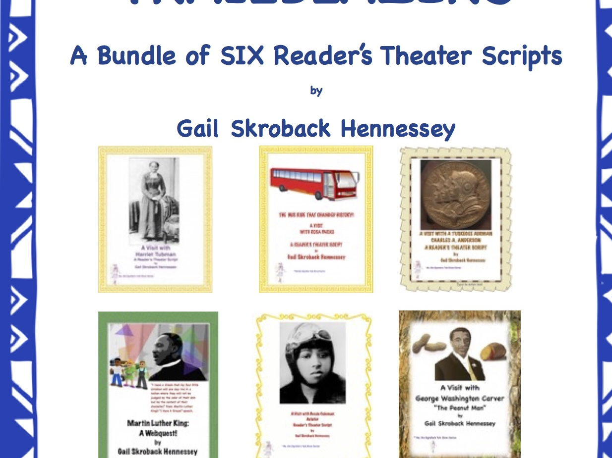 African American Trailblazers(Six Reader's Theater Scripts)