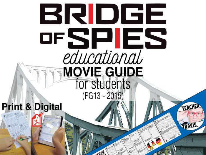 Bridge of Spies Movie Guide   Questions   Worksheet (PG13 - 2015)