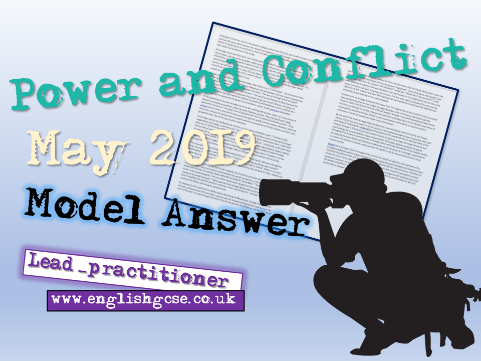 Power and Conflict May 2019