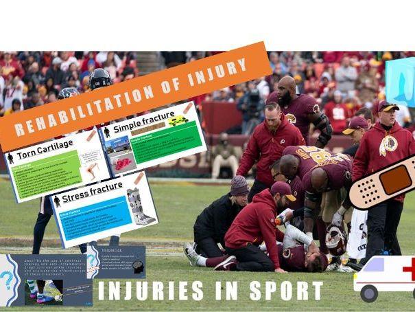 Rehabilitation of Injury - A Level PE