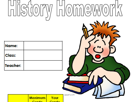 History Homework (Year 10)