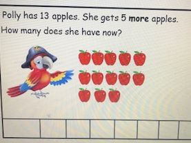 Year 1 Solving one-step addition and subtraction word problems using pictorials