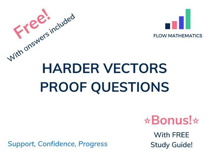 Vectors proofs for GCSE (Grade 8-9)