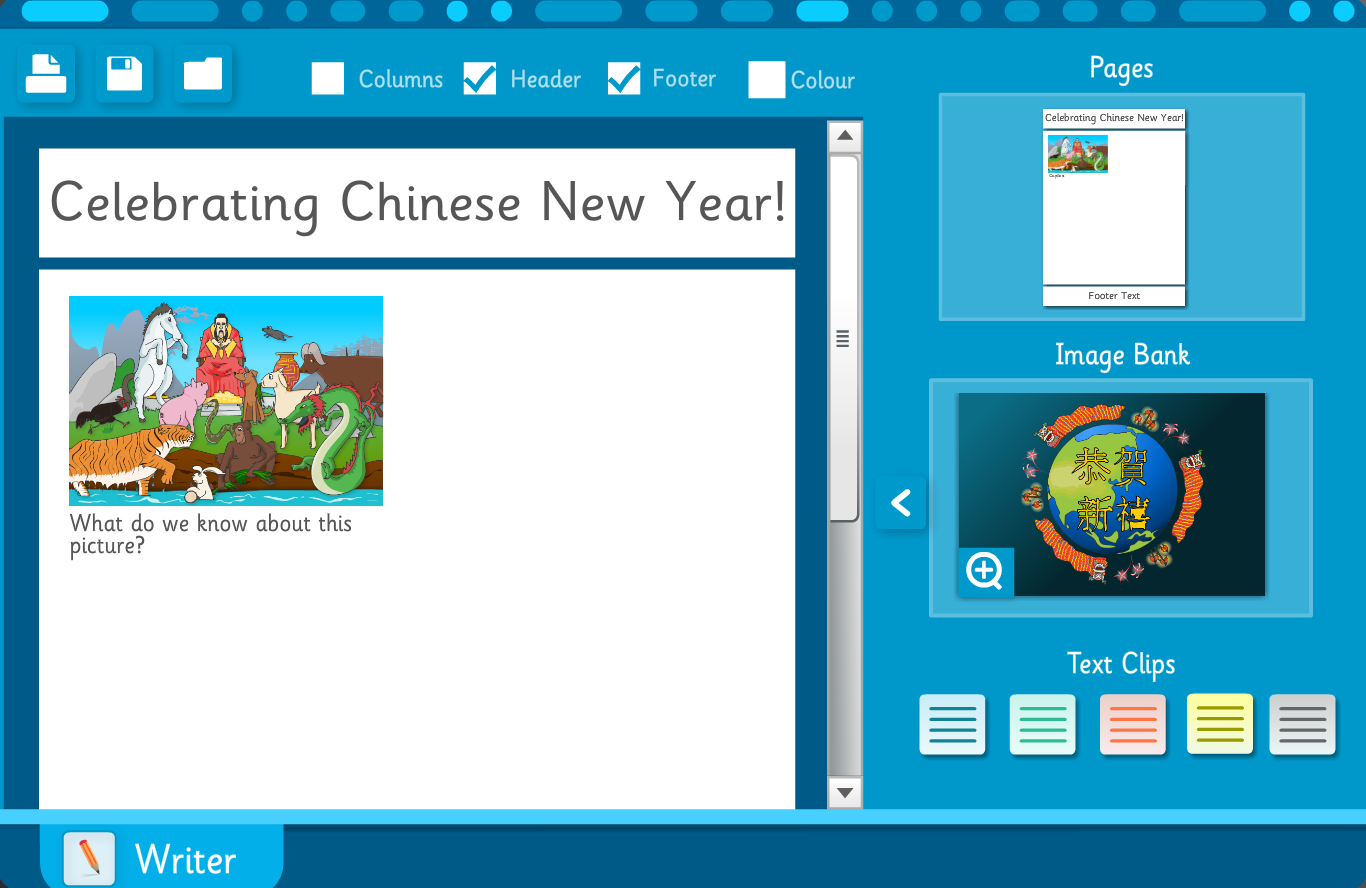 Make Your Own Information Sheet: Chinese New Year Interactive Activity - KS2