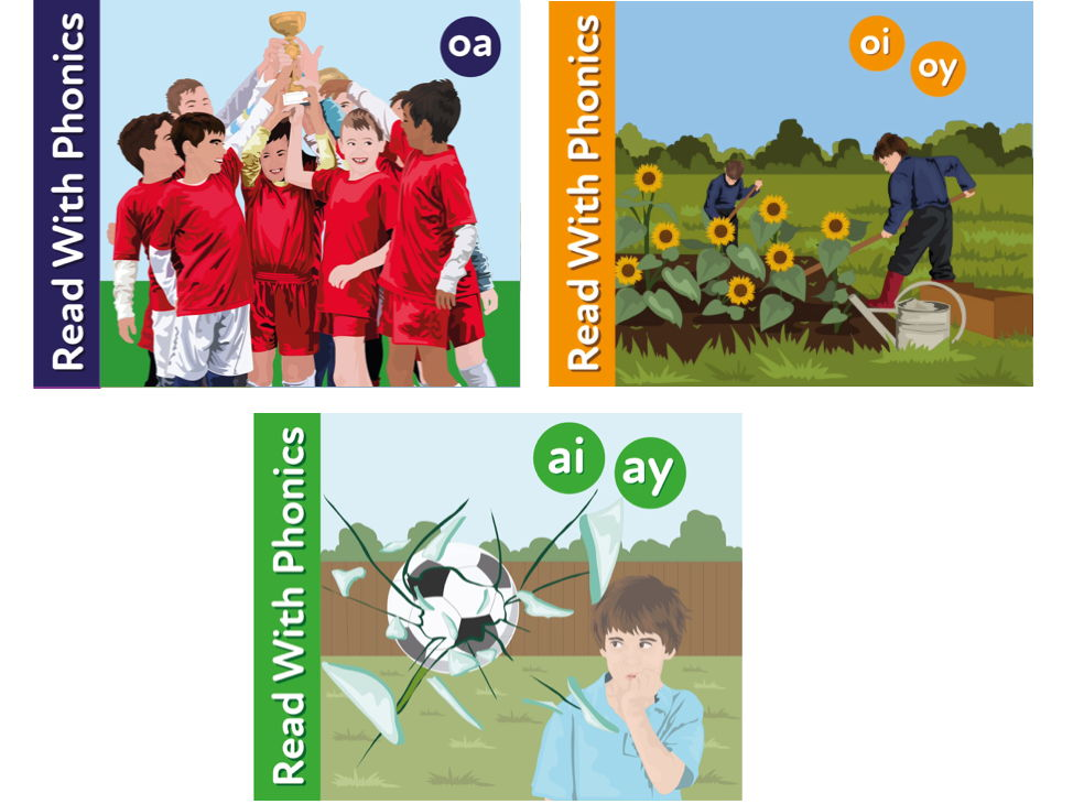 Learn To Read With Phonics (Bundle 4)