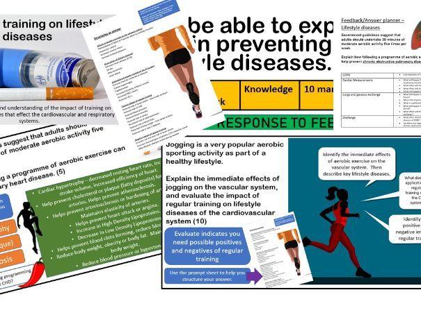 Impact of training on lifestyle diseases - A Level PE