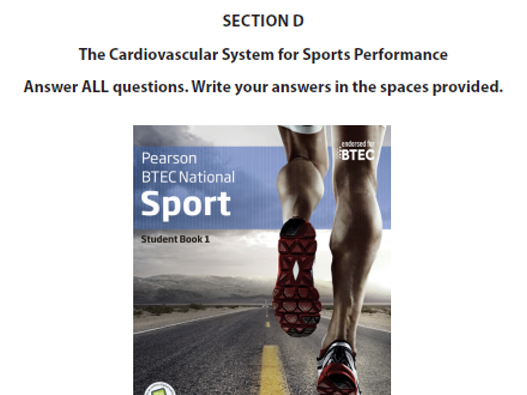 Cardiovascular System  Lessons 1-8- BTEC Sport