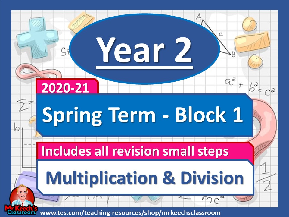 Year 2 - Multiplication and Division- Spring Block 1 - White Rose Maths