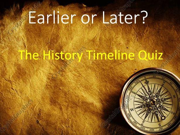 Historical Timeline Game