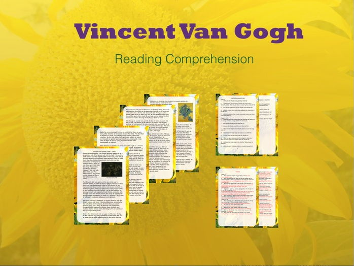 Reading Comprehension: Vincent Van Gogh