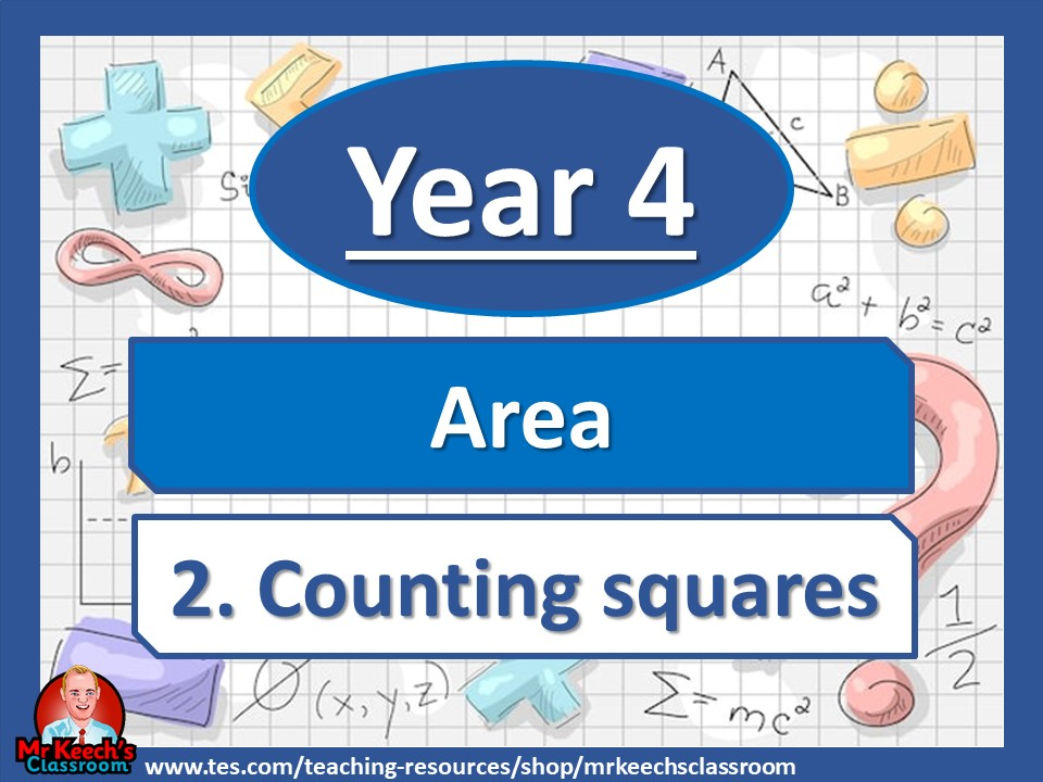 Year 4 – Area – Counting squares - White Rose Maths